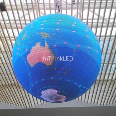 LED异形球形屏